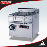 80L Restaurant Commercial Kitchen Gas Tilting Braising Pan(INEO are professional on kitchen project)