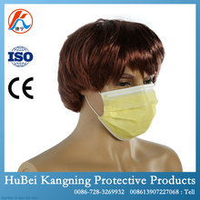 Disposable Anti Smoking 3 Ply Surgical Nonwoven Face Mask