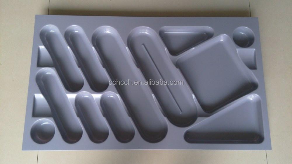 de rangement en plastique plateaux avec s parateurs cuisine tiroir tiroir couverts bac de. Black Bedroom Furniture Sets. Home Design Ideas