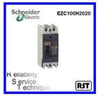 ezc100h2020 2p 20 amp easypact schnedier merlin gerin quebrar baixo intervalo mccb disjuntor moldado do caso