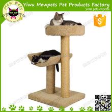Wholesale Wooden Beige Cat Tree / Wooden Cat House / Luxury Cat Tree