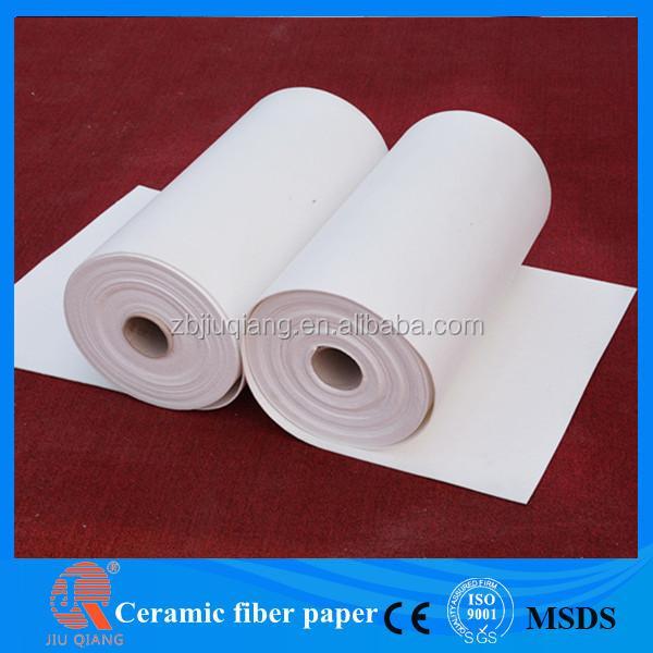 Ceramic fiber roof heat insulation materials