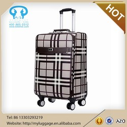 2015 newly popular leather suitcase