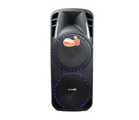 2015 Trade assurance supplier double 15 inch powered speakers with cordless mic