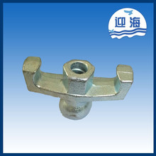 GB wing nut and bolt for 15/17mm tie rod ,chinese manufacturer