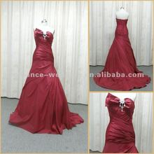RE0028 Luxuriant Beaded Real Photo Ball Gown Evening Dress 2012