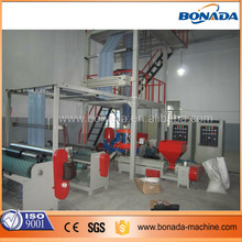 Extruder Recycled material PE film blowing machine in China