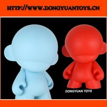 vinyl pvc design flashing figure;DIY pvc design led light doll