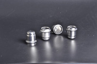 stainless steel cap DN25 304 without bolting