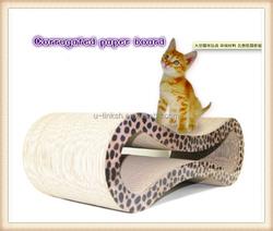 Environmental Corrugated Cardboard Cat Scratcher