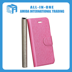 Processing silk grain leather cell phone cases