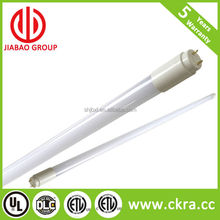 UL&DLC high quality energy saving 4ft t5 T8 led tube light with 150lumens/wattages easy retrofits or self-ballast