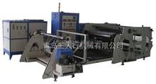 Hot melt adhesive extrusion transparent film adhesive sticker laminating coating machine