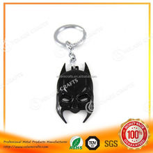 Eco-friendly football game blank metal keychains