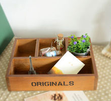Nouveau cadeau créatif 4 palettes place mixte. lot maison japonais, plateau en bois