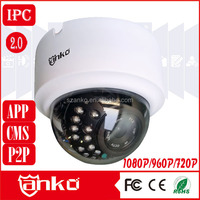 Security camera China metal dome ip camera
