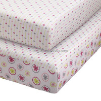 100% Cotton Printing Cot Fitted Sheet Baby Crib Sheet