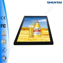 Made in China aluminum snap led light acrylic picture frames