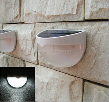 Wireless LED Solar Powerd Security Motion Sensor Light Wall/garden Lamp Path Light with Li-ion Battery