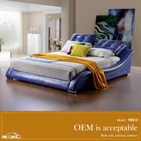 simple fancy bed design N0810#