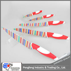 Wholesale china import vegetable and fruit cutting tool set