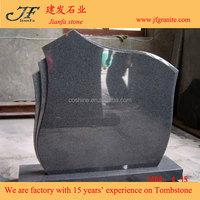 China New Impala G654 Granite Tombstone And Monument