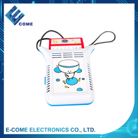 Outdoor cartoon white neck personal cooling fan for neck/neck cooler fan