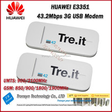 Cheapest Original Unlock DC-HSPA+ 43.2Mbps HUAWEI E3351 3G USB Modem And 3G USB Dongle