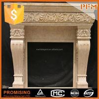 2014 Art & Beautiful & Best selling stone fireplace guard