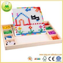 Multifuncional juguete de madera juguetes educativos