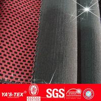 Jacquard Bump grid New fashion 4way stretch fabrics for pants