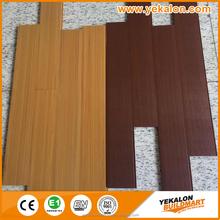 Indoor floor tiles pvc vinyl flooring Natural Wood Vinyl Floor Tile
