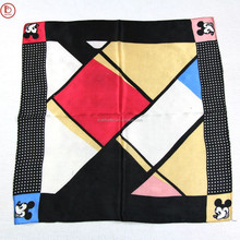 2015 lovely children scarf with Mickey pattern