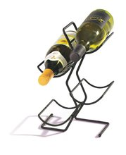 4-garrafa black metal portátil árvore barril de vinho rack