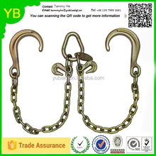 Chinese manufacturing alloy flat double j hook bolts hang tabs