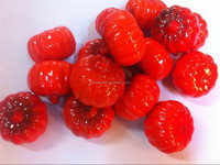 50mm small size red artificial pumpkins to decorate