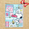 Cartoon good quality waterproof single pocket file folder with zipper