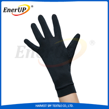 Silicone coated knitted hand gloves