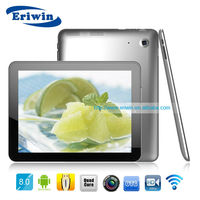 ZX-MD8006 1024*768 Wifi/HDMI ATM7029 1G+8G android4.1 quad core tablet pc onda v792