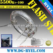 200w 5500k universal de xenón luz de estudio foto flash toroidal del tubo de la lámpara tipo
