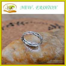 beautiful Double weave 925 sterling silver rings for couples high quality rings fashion ring design