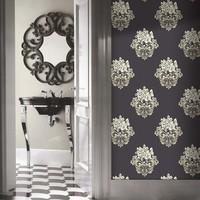 1.06M LIETO buy vinyl waterproof designer wallpaper for bathroom factory in china damask