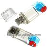 liquid crystal usb flash drive, OEM crystal usb falsh, plastic crystal usb/ DIY crystal usb