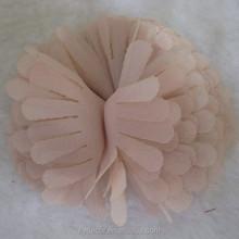 Design de moda flor Artificial decoração de vestuário artesanal flor de tecido