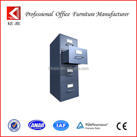 2014 Asian Steel Mobile KD Metal Small Vertical File Cabinet with 4 Drawer