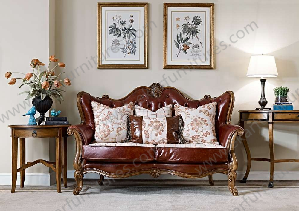 Alibaba rococo meubles high end furniture 2 persons sofa for Meuble alibaba montreal