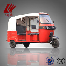 High quality Bajaj auto rickshaw model KN200ZK passenger tricycle best 3-wheeler in China