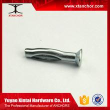 Flat/round/tie wire head split drive anchor