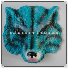 HOT SELL ! Wholesale handmade Halloween wolf Mask