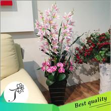 126cm wholesale artificial lily flower for parlour decoration